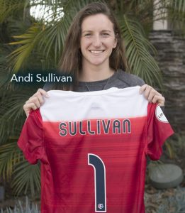 Episode 114 interviews with with USWNT players Andi Sullivan
