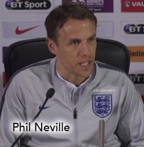 Phil Neville, Women's World Football Show, women's soccer