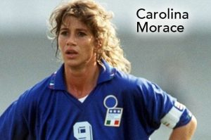 Carolina Morace, Women's World Football Show, soccer podcast