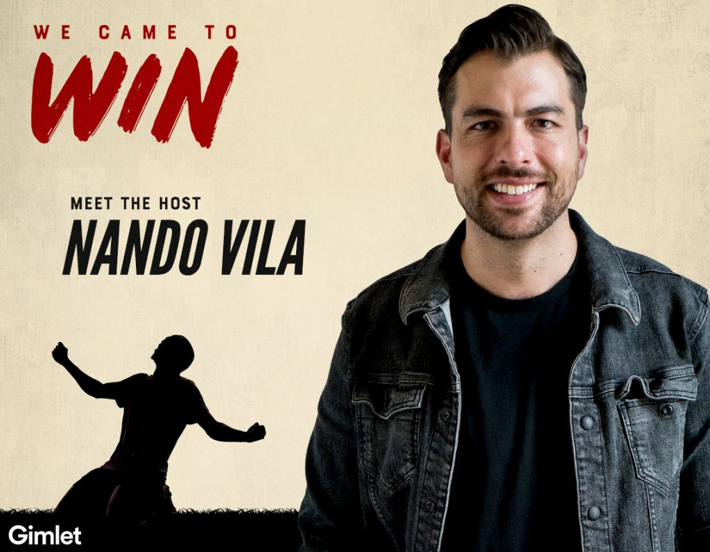 WWFShow, Women's World Football Show, We Came to Win, podcast, Nando Vila