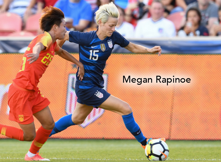 Megan Rapinoe, USWNT, Seattle Reign FC, NWSL