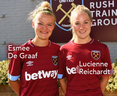 WWFShow, Women's World Football Show, Lucienne Reichardt, Esmee De Graaf, West Ham United L.F.C.