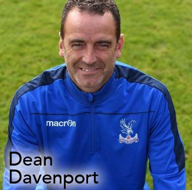 Dean Davenport, Crystal Palace LFC, womens football podcast