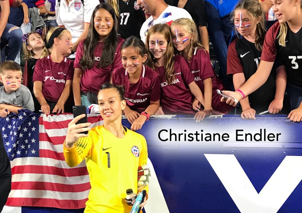 USWNT, Christiane Endler, soccer podcast, womens football, women's soccer, Chile WNT