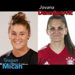 Teagan Micah, UCLA, Jovana Damnjanović, women's football podcast