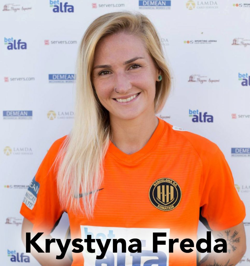 Krystyna Freda, women's soccer, women's world football show, soccer podcast