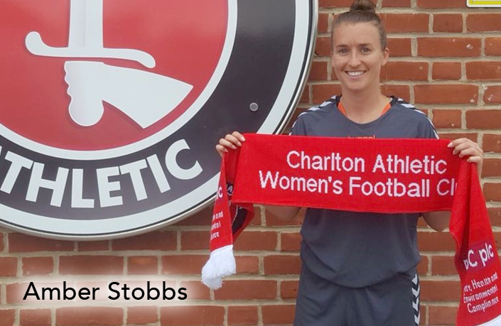 Amber Stobbs, Charlton FC, women's football, podcast, women's world football show