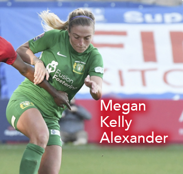 Megan Kelly Alexander, Yeovil Town Ladies FC, FAWSL, Women's World Football Show, soccer podcast