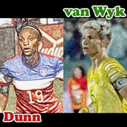 Crystal Dunn, Janine Van Wyk, USWNT, soccer podcast