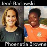 Jene Baclawski, Phoenetia Browne, Saint Kitts and Nevis, soccer podcast