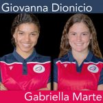 Dominican Republic U-20 Women's National Team defendersGiovanna Dionicio and Gabriella Marte
