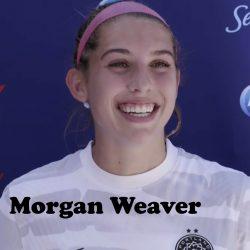 Morgan Weaver of the Portland Thorns FC